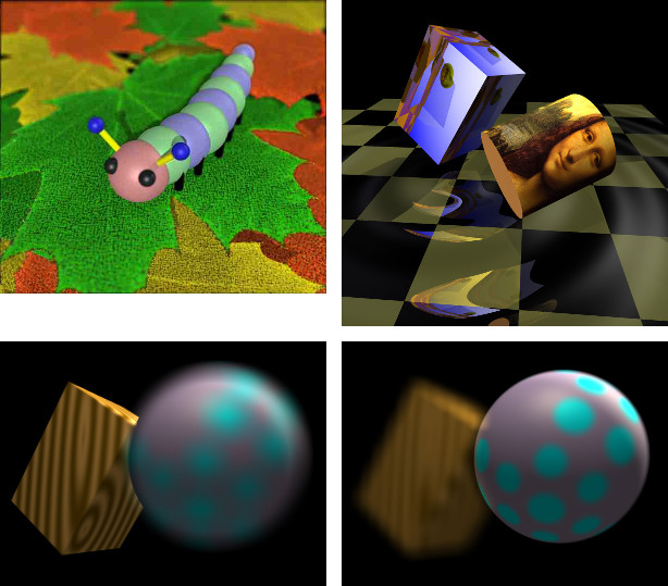 Ray Tracer Screenshots